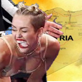 miley cyrus and syria wmd