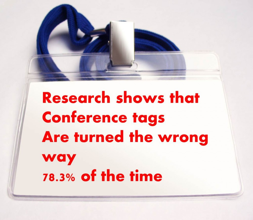 conference tag